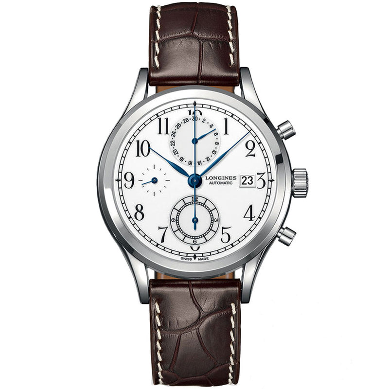 Longines - Men's Heritage Classic Chronograph Watch L2.815.4.23.2