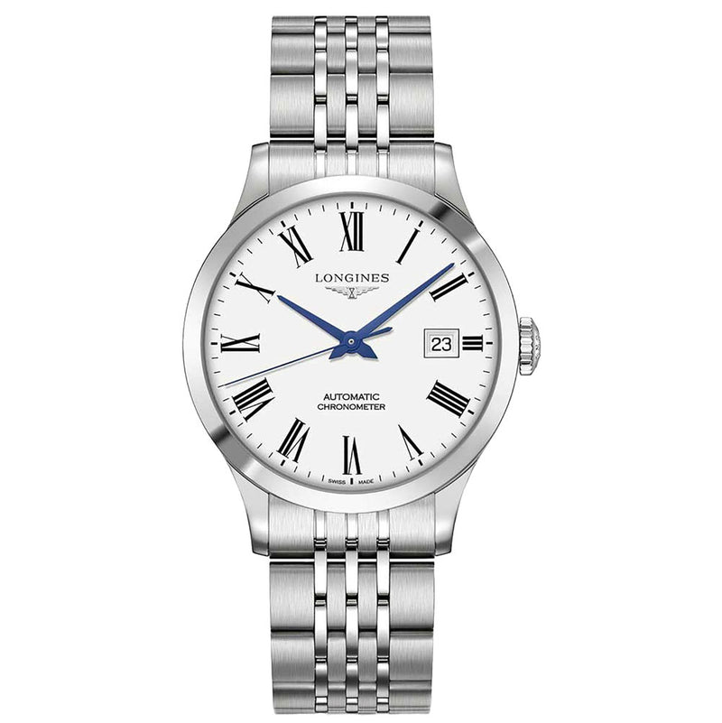 Longines - Men's Record Automatic Watch L2.820.4.11.6