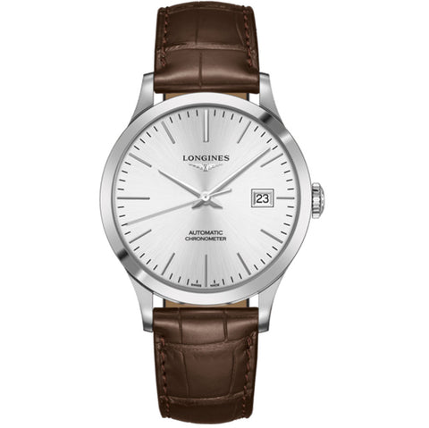 Longines - Men's Record Automatic Watch L2.821.4.72.2