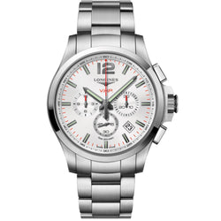 Longines - Men's Conquest V.H.P Chronograph Watch L3.727.4.76.6