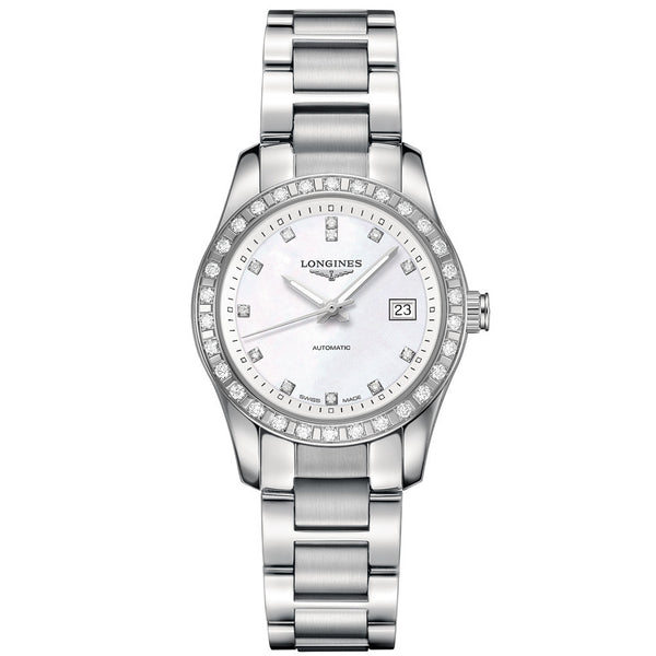 Longines - Ladies' Conquest Classic Diamond Automatic L2.285.0.87.6