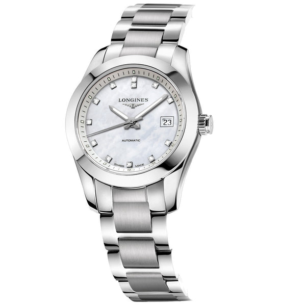 Longines - Ladies' Conquest Classic Diamond Automatic L2.285.4.87.6