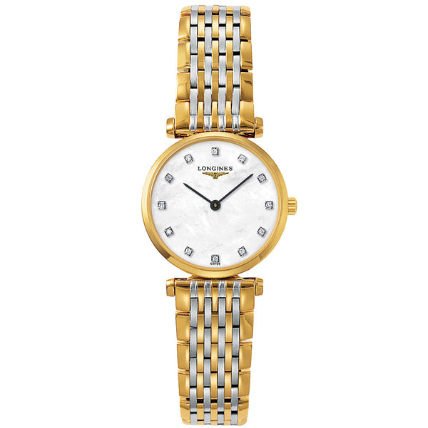 Longines - Ladies' La Grande Classique Bicolour Diamond L4.209.2.87.7