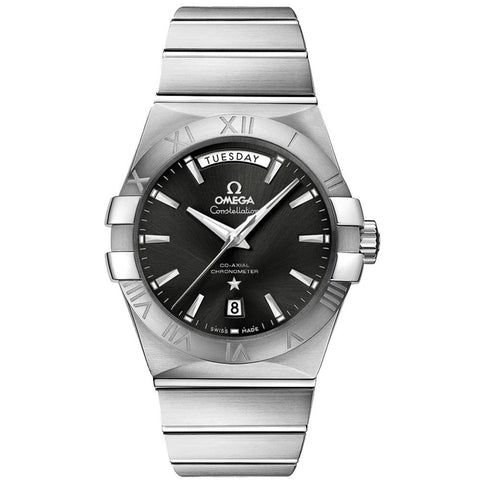 Omega - Men's Constellation Co-Axial Day-Date 38 mm Watch 123.10.38.22.01.001