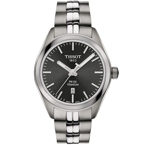 Tissot - Ladies' PR 100 Quartz Titanium Watch T101.210.44.061.00