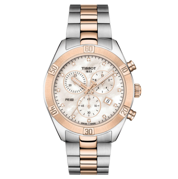 Tissot - Ladies' PR 100 Sport Chic Chronograph Watch T101.917.22.116.00