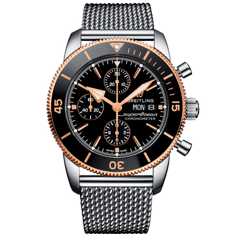Breitling - Men's Superocean Heritage ll Chronographe 44 Watch U13313121B1A1