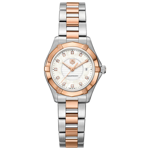 TAG Heuer - Ladies' Aquaracer Diamond Dial 27 mm WAP1451.BD0837