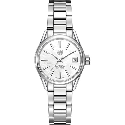 TAG Heuer - Ladies' Carrera Calibre 9 Automatic 28 mm Watch WAR2411.BA0776