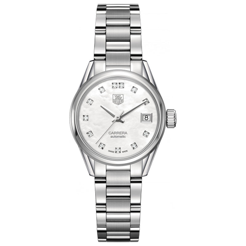 TAG Heuer - Ladies' Carrera Calibre 9 Automatic 28 mm Watch WAR2414.BA0776