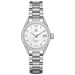 TAG Heuer - Ladies' Carrera Calibre 9 Automatic 28 mm Watch WAR2415.BA0776