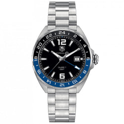 TAG Heuer - Men's Formula 1 Calibre 7 41 mm Twin Time Watch WAZ211A.BA0875