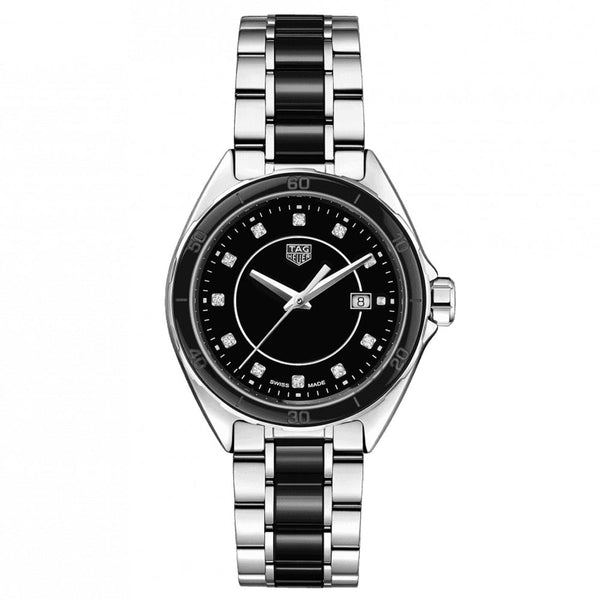 TAG Heuer - Ladies' Formula 1 Steel and Ceramic 32 mm Watch WBJ141AB.BA0973