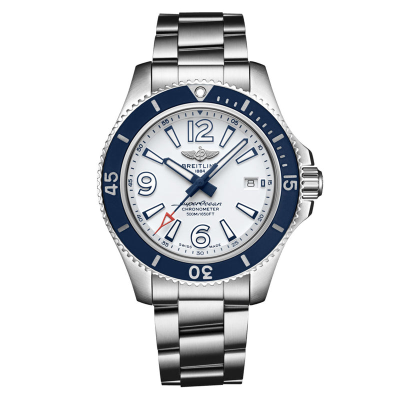 Breitling - Men's Superocean Automatic 42 Watch A17366D81A1A1