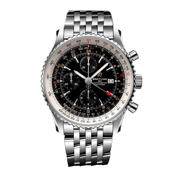 Breitling - Men's Navitimer 1 Chronograph GMT 46 Watch A24322121B2A1