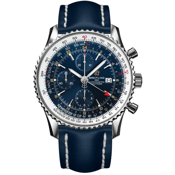 Breitling - Men's Navitimer 1 Chronograph GMT 46 Watch A24322121C2X1