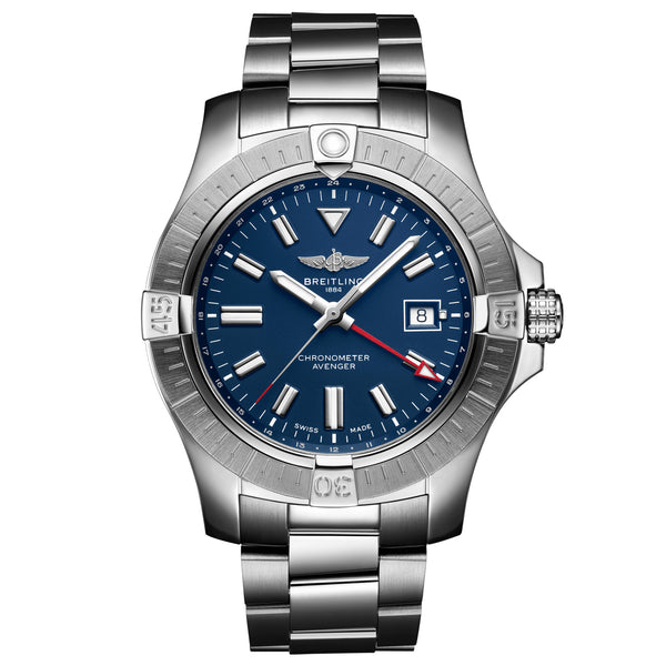 Breitling - Men's Avenger Automatic GMT 45 Watch A32395101C1A1