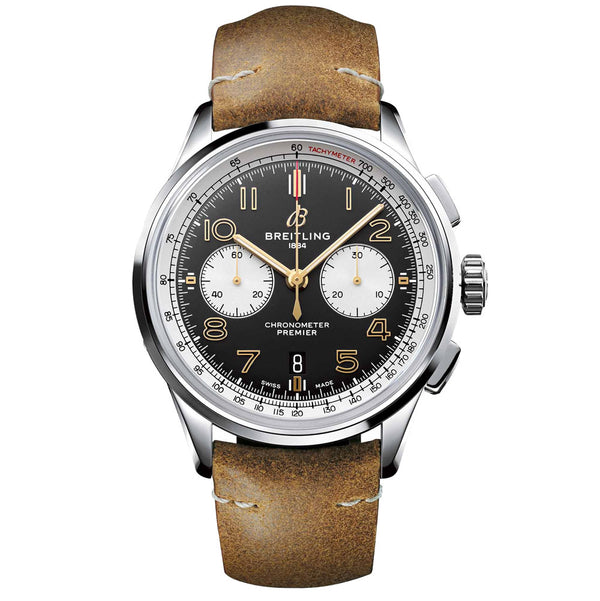 Breitling - Men's Premier B01 Chronograph 42 Norton Watch AB0118A21B1X1