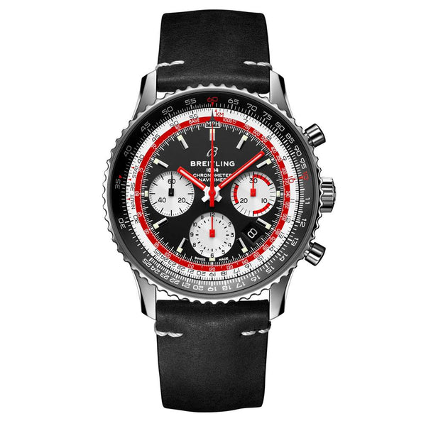 Breitling - Men's Navitimer 1 B01 Chronograph 43 Swiss Air Watch AB01211B1X1