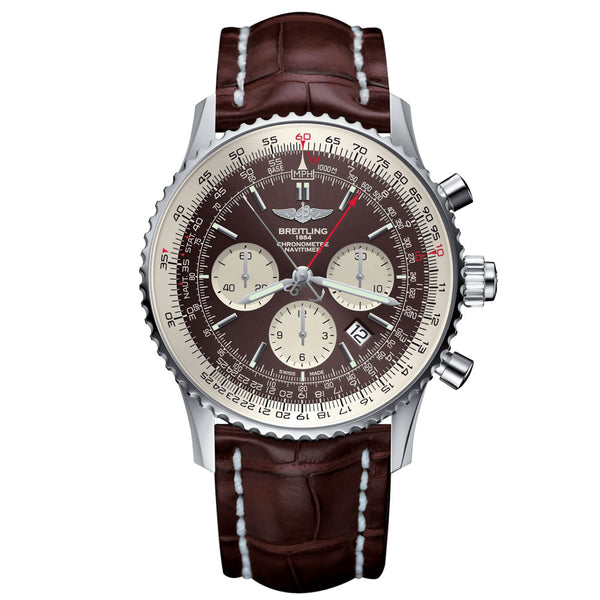 Breitling - Men's Navitimer Rattrapante Watch AB031021/Q615/756P/A20BA.1