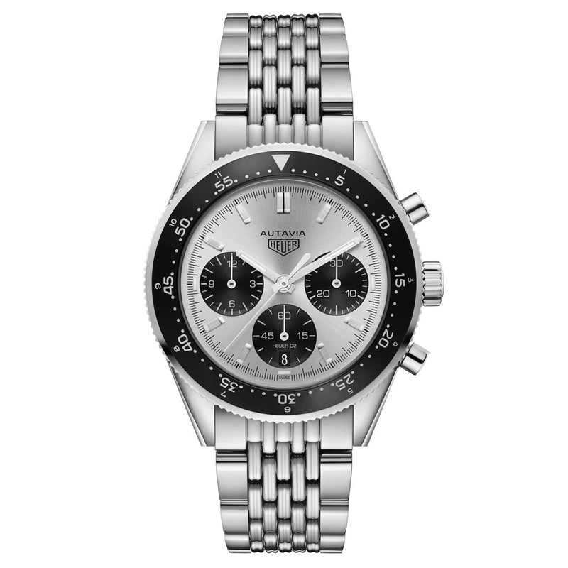 TAG Heuer - Men's Autavia Heuer Heritage Calibre Heuer 02 42 mm Watch CBE2111.BA0687
