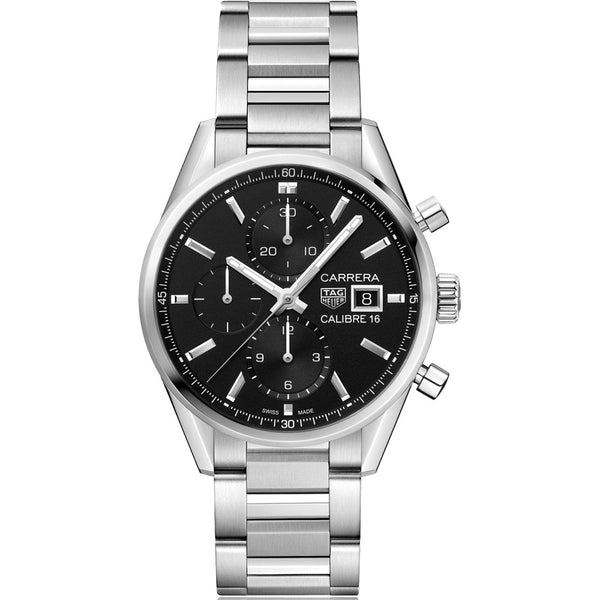 TAG Heuer - Men's Carrera Calibre 16 Automatic Chronograph 41 mm Watch CBK2110.BA0715