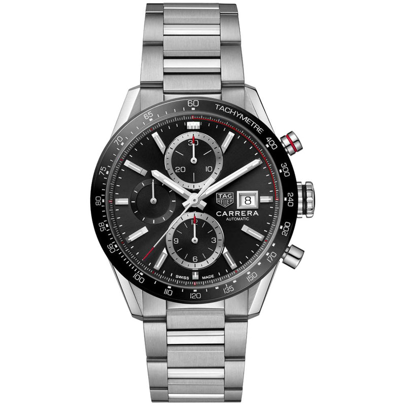 TAG Heuer - Men's Carrera Calibre 16 Automatic Chronograph 41 mm Watch CBM2110.BA0651
