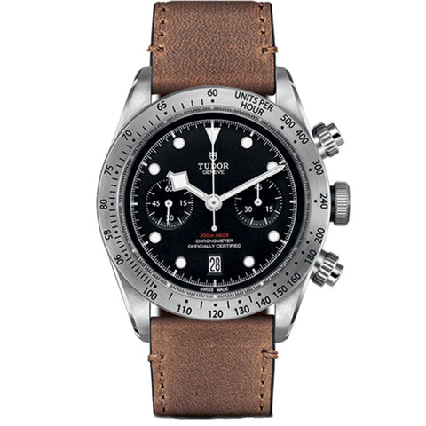 Tudor - Men's Black Bay Chrono Watch M79350-0005
