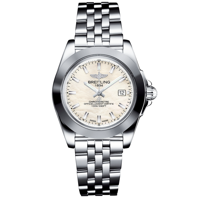 Breitling - Ladies' Galactic 32 Sleek Edition Watch W7133012/A800/367A