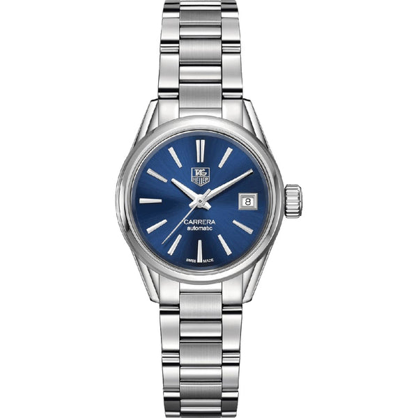 TAG Heuer - Ladies' Carrera Calibre 9 Automatic 28 mm Watch WAR2419.BA0776