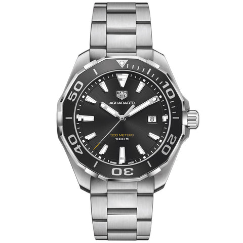 TAG Heuer - Men's Aquaracer Swiss Quartz 43 mm Watch WAY101A.BA0746