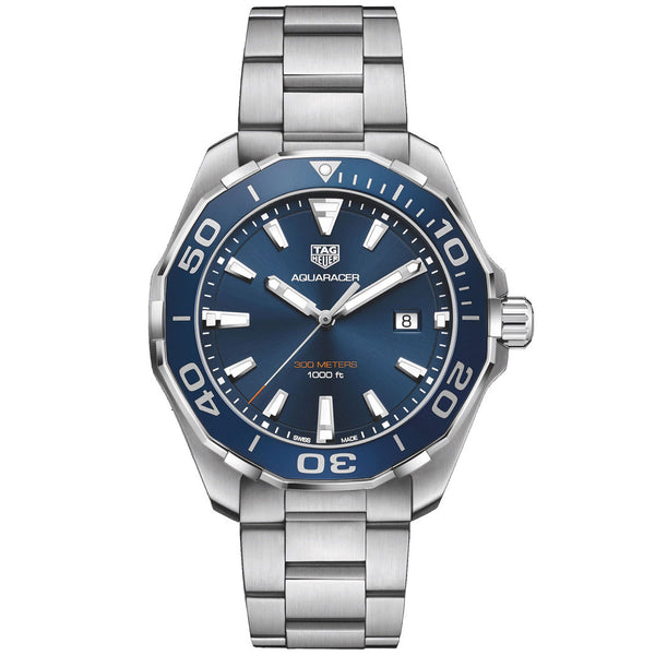 TAG Heuer - Men's Aquaracer Swiss Quartz 43 mm Watch WAY101C.BA0746