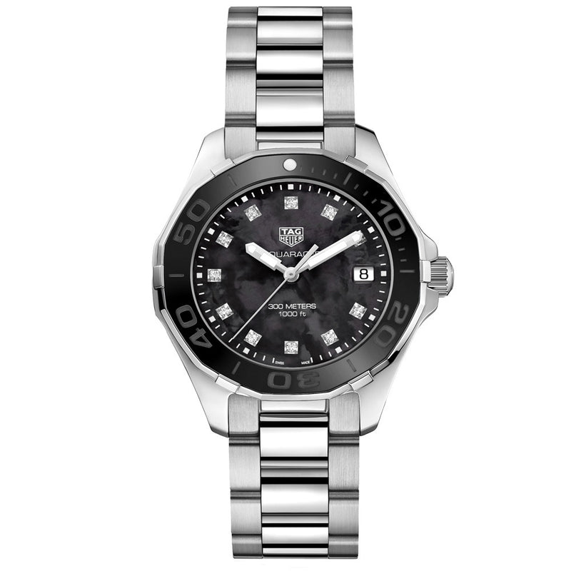 TAG Heuer - Ladies' Aquaracer Swiss Quartz 35 mm WAY131M.BA0748
