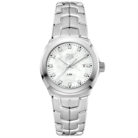 TAG Heuer - Ladies' Link Diamond Dial 32 mm WBC1312.BA0600