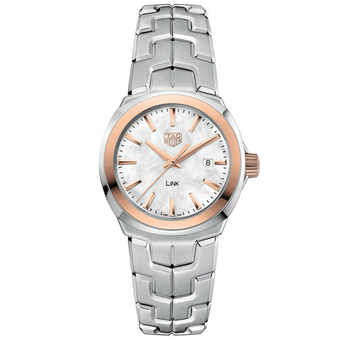 TAG Heuer - Ladies' Link Mother of Pearl Dial 32 mm Watch WBC1350.BA0600