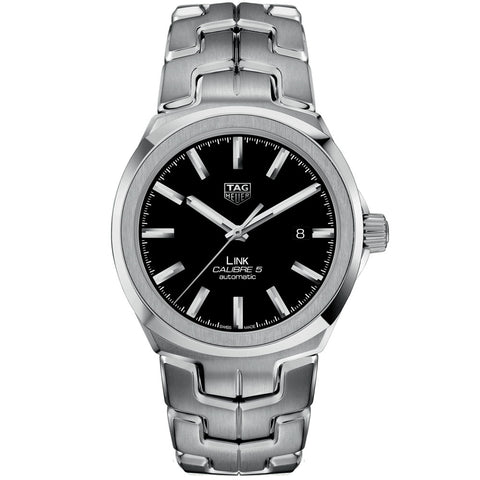 TAG Heuer - Men's Link Calibre 5 Automatic Watch 41 mm WBC2110.BA0603