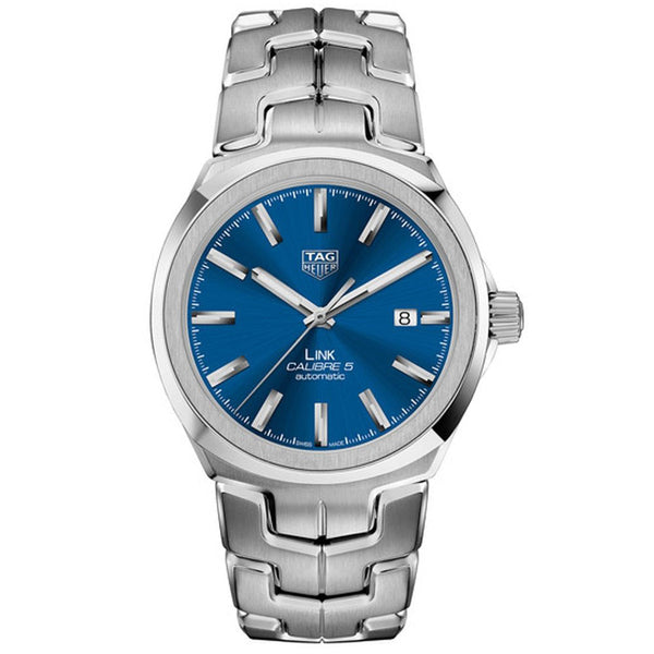 TAG Heuer - Men's Link Calibre 5 Automatic Watch 41 mm WBC2112.BA0603