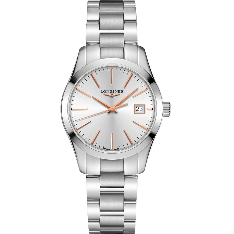 Longines - Ladies' Conquest Classic Quartz L2.386.4.72.6