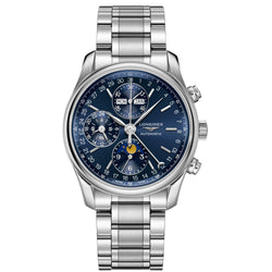 Longines - Men's Master Collection Moonphase  Automatic Chronograph L2.673.4.92.6