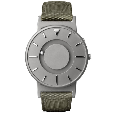 Eone Unisex Bradley Classic Canvas Olive Watch BR-C-GREEN