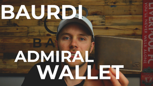 The Baurdi Admiral Wallet - Details and Design