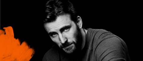 como aparar a barba MAN LAB chris evans