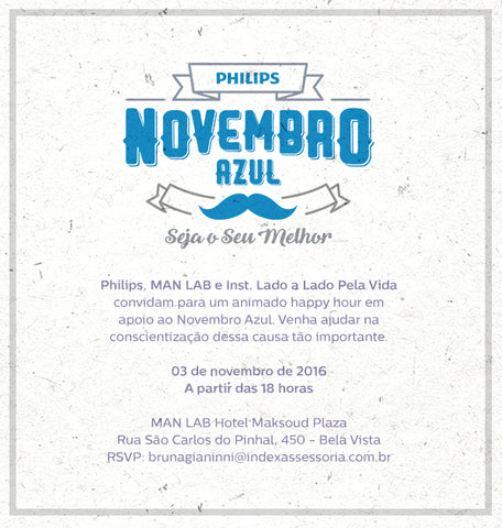 Man Lab Philips Novembro Azul