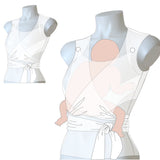 Wholesale Sleeveless Wrap Top | Skin-to-Skin/Kangaroo Care {{MAP $83.00}}
