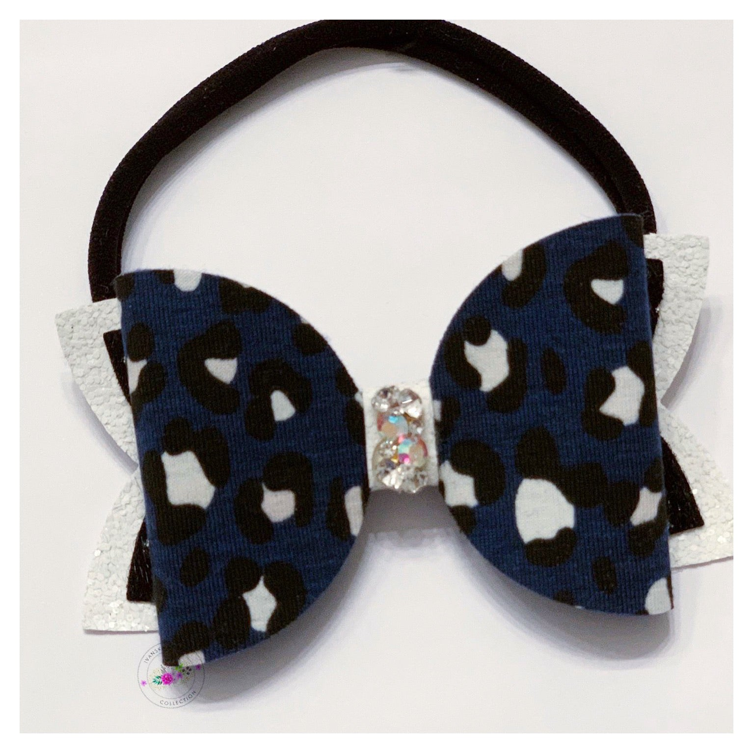 White Leopard Bow