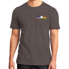 District T-Shirt (on man) Heather brown International Group of Anthony