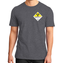 District T-Shirt (on man) Heather charcoal International Group of Anthony