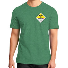 District T-Shirt (on man) Heather green International Group of Anthony