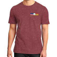 District T-Shirt (on man) Heather red International Group of Anthony