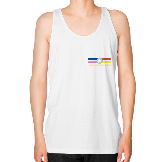 Fine Jersey Tank (man) White International Group of Anthony